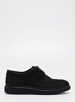 F By Fabrika Erkek Siyah Ayakkabı DERE